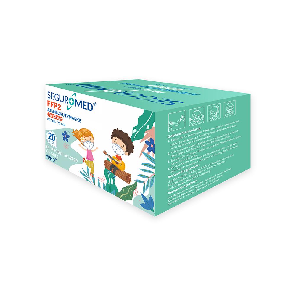 Kindermasken- FFP2 für Kinder (20er Packung)