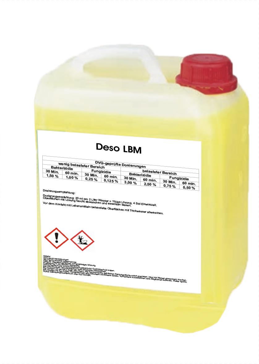 Deso LBM Desinfektionsreiniger 5l