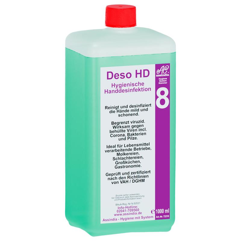 Deso HD 1L Flasche Antibakterieller Handreiniger