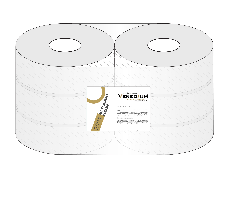 """Toilettenpapierrolle """"Maxi-Jumbo"""" (Art. 2006)"""
