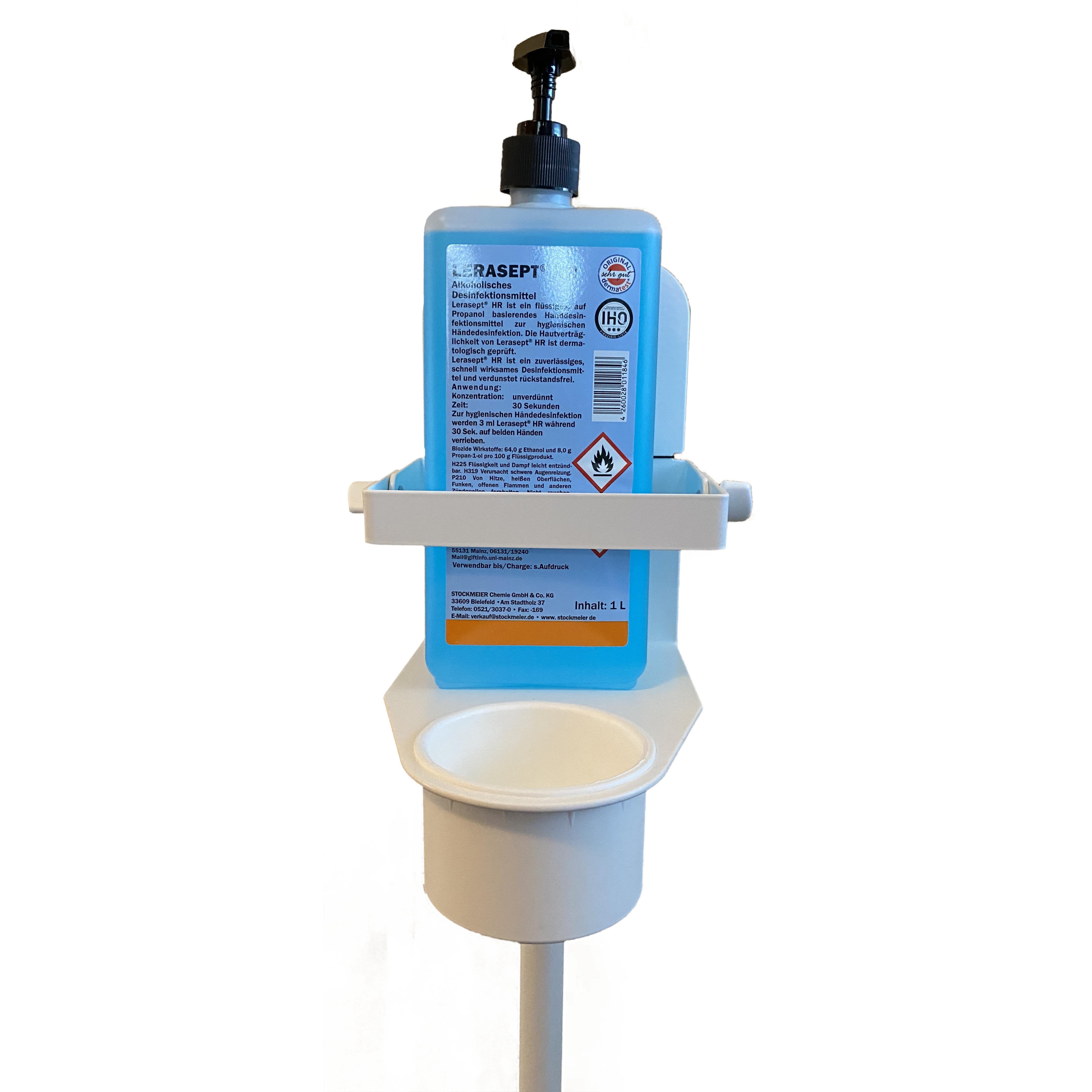 Desinfektionsmittelständer Modell Eco