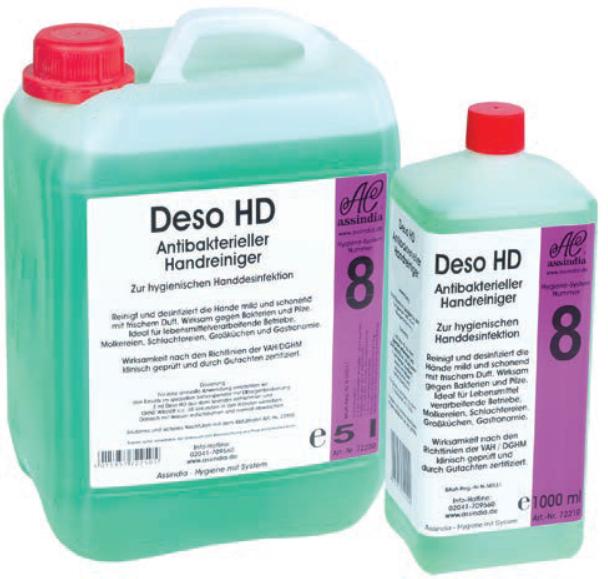 Deso HD 5L Kanister  Antibakterieller Handreiniger